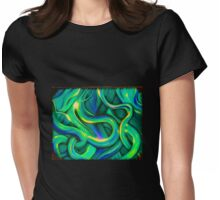Cool Abstract By Angieclementine Womens Fitted T-Shirt