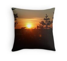 End of Another Birthday Throw Pillow