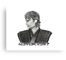 Skywalker - Aurebesh  Canvas Print