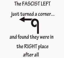 The FASCIST LEFT by darkvampire