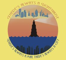 There's always a lighthouse... Kids Clothes