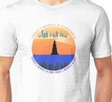 There's always a lighthouse... Unisex T-Shirt