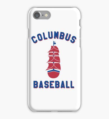Columbus Baseball iPhone Case/Skin