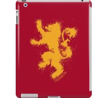 House of Lannister - Game of thrones iPad Case/Skin