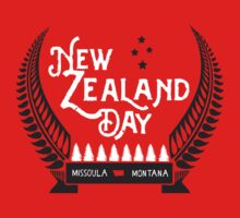 New Zealand Day 2015 One Piece - Short Sleeve