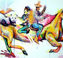 """Crazy Horseride"" by Kenji Hasegawa"