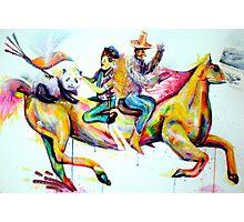 """""""Crazy Horseride"""" Photographic Print"""