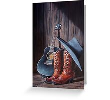 """""""Boots"""" Greeting Card"""