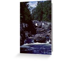 Montreal River Northern Ontario 1981 Greeting Card
