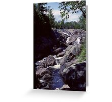Montreal River, Northern Ontario Greeting Card