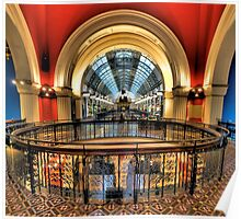 Old Style Elegance - QVB, Sydney - The HDR Experience Poster