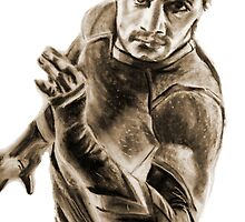 Quicksilver - Charcoal by Luke Tomlinson