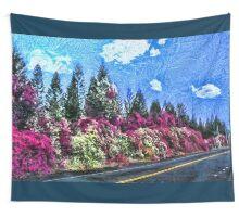 Hawaiian Highway Wall Tapestry