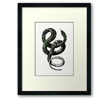 Jungle Snake Framed Print