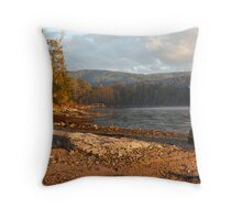 Morning Light at Oyster Cove Throw Pillow