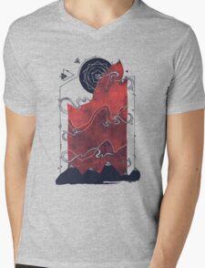 Northern Nightsky Mens V-Neck T-Shirt
