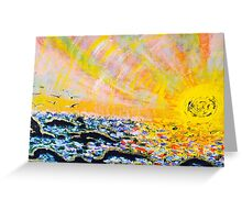 Malibu Design By Octavious Sage  Greeting Card