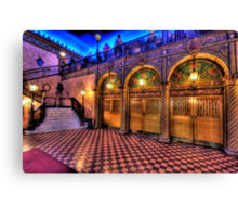 Treasure - The Capitol Theatre - The HDR Experience Canvas Print