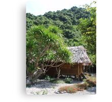 Monkey Island Hut Canvas Print