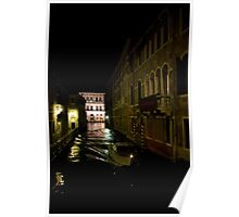 Venice at Night2 Poster