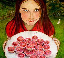 "Alice's invitation by Belinda ""BillyLee"" NYE (Printmaker)"