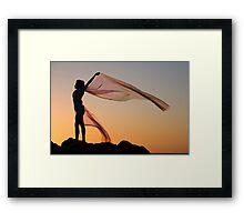 Sunset Princess 2 Framed Print
