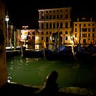 Together on the Grand Canale in Venice by John Bergman