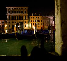 Together on the Grand Canale in Venice 2 by John Bergman
