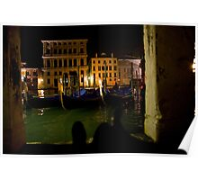 Together on the Grand Canale in Venice 2 Poster