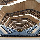 Spiral staircase by Tony Blakie