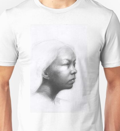 Portrait of a Chinese woman Unisex T-Shirt