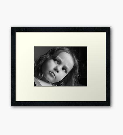 Annoyed Framed Print
