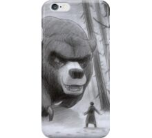 Vlad and Lev confront the Great Bear iPhone Case/Skin