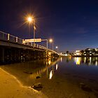 Canning Bridge and the Raffles by Geoff White
