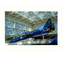 Blue Angels Jet #4 Art Print