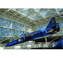 Blue Angels Jet #4 Photographic Print