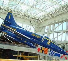 Blue Angels Jets #3 by Wanda Raines