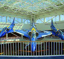 Blue Angels Jets #2 by Wanda Raines
