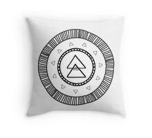 'I Am Connected' Mandala Throw Pillow
