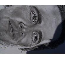 close up of Jimmy Johnson nascar driver Photographic Print