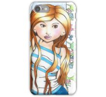 Maybe I'm Missing You iPhone Case/Skin