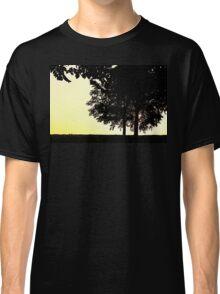 Backlit Trees Classic T-Shirt
