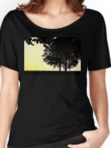 Backlit Trees Women's Relaxed Fit T-Shirt