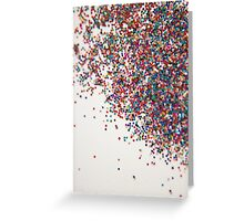 Fun II (NOT REAL GLITTER - photo) Greeting Card
