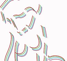 Linear Girl by dsandage