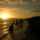 Twelve Apostles, sunset by mmanni