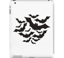 Flying bats iPad Case/Skin