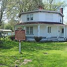 The Clarence Darrow Octagon House by Jack Ryan