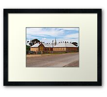 Moonta Museum Framed Print