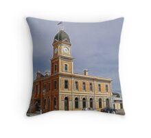 Moonta Town Hall Throw Pillow